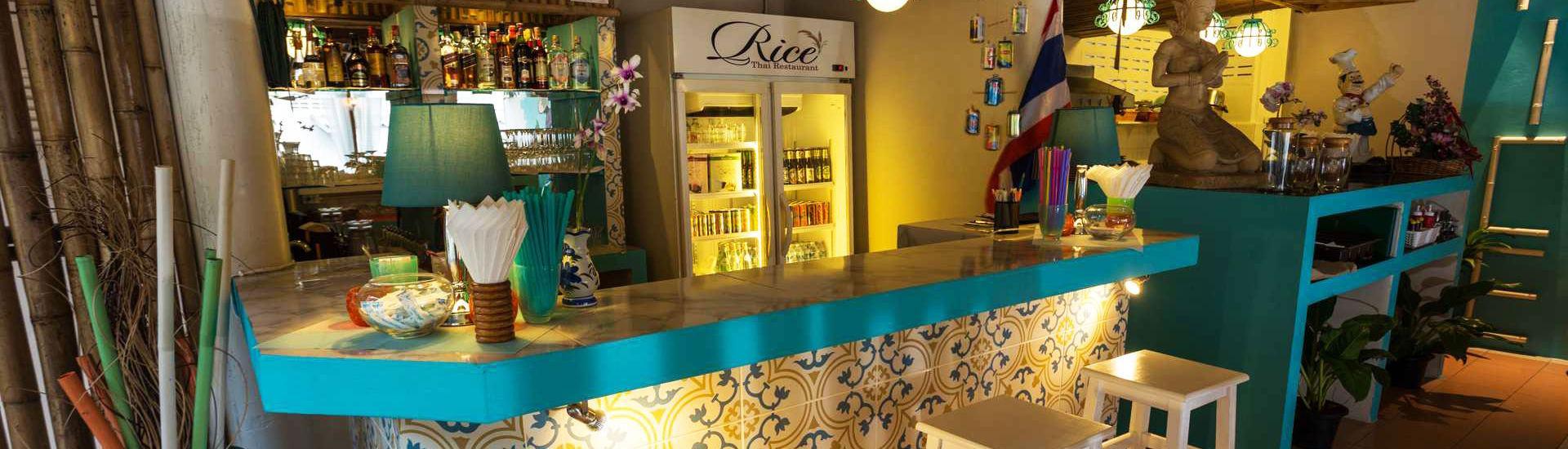 Thai Food Restaurant Inside